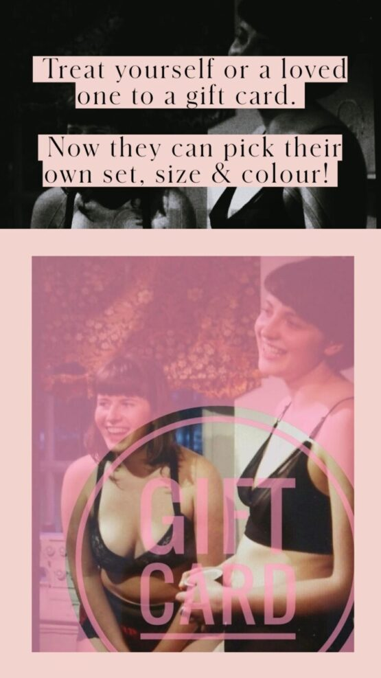 Treat yourself or a loved one to a Mojo Lingerie gift card. Now they can pick their own set, size and colour.