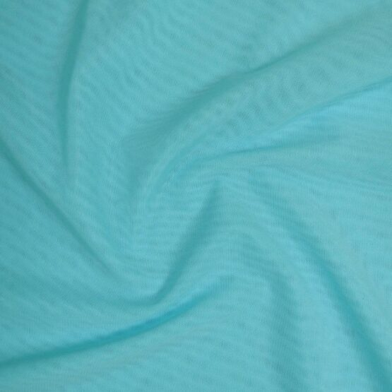 Light blue mesh fabric