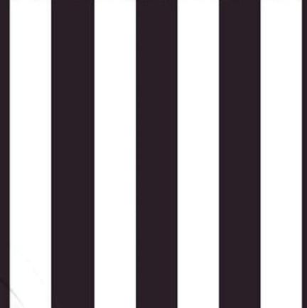 Alternating black and white stripes fabric